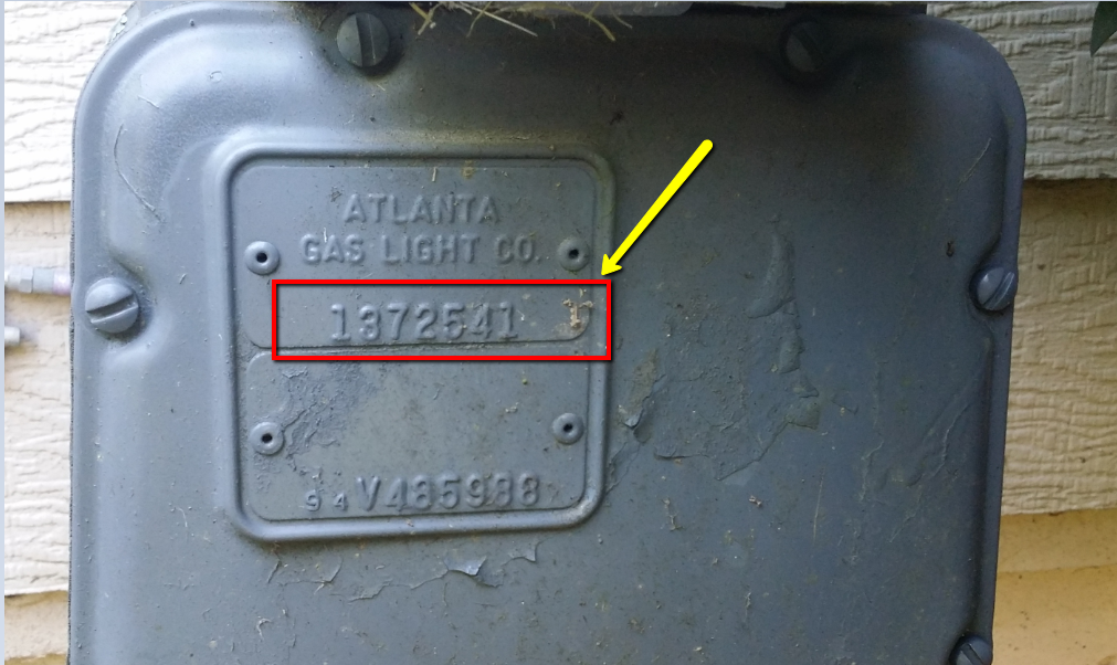 how to read my gas meter